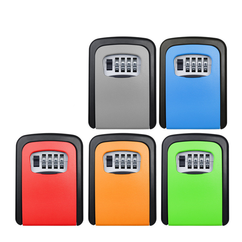 Master Lock Outdoor Key Safe Box Keys Storage Box Padlock Use Password Lock Alloy Material Keys Hook Security Organizer Boxes