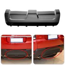 CITALL Black Plastic Car Rear Bumper Skid Plate Trim Cover Fit for Land Rover Range Rover Sport 2014 2015 2016 2017