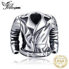 JewelryPalace 925 Sterling Silver Jacket Beads Charms Original Fit Bracelet original Jewelry for Women