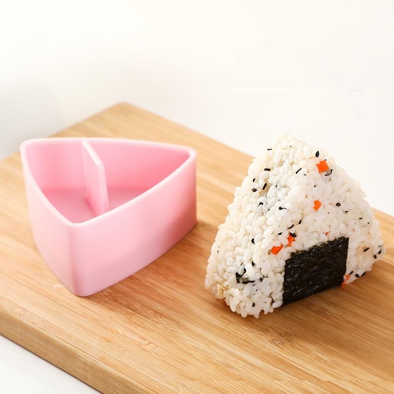 Trilater форма для рисовый онигири мяч устройство для изготовления суши с антипригарным покрытием Кухня Суши набор для изготовления водорослей Пресс устройства пресс-форм для детей начинающих-1