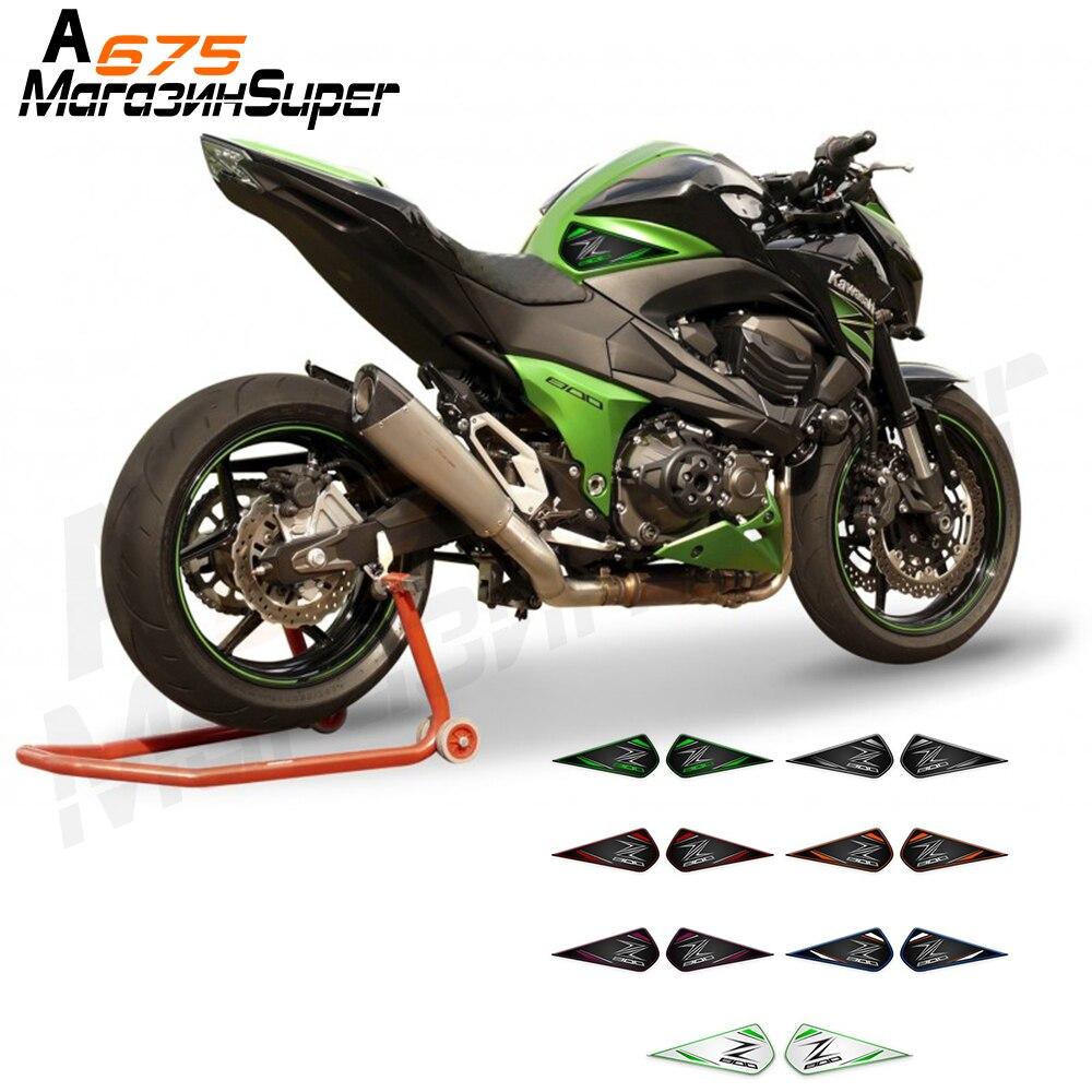 Color : Green Motorcycle Tank Pad For Versys 650 Z1000 Z1000SX Z800 Z750 Z250 Black Carbon Brazing Stickers Decorative Protector