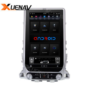 Image 3 - 13.6 inch Car radio tape recorder head unit multimedia player for TOYOTA LAND CRUISER 2016 2019 Car GPS Navigation for TOYOTA