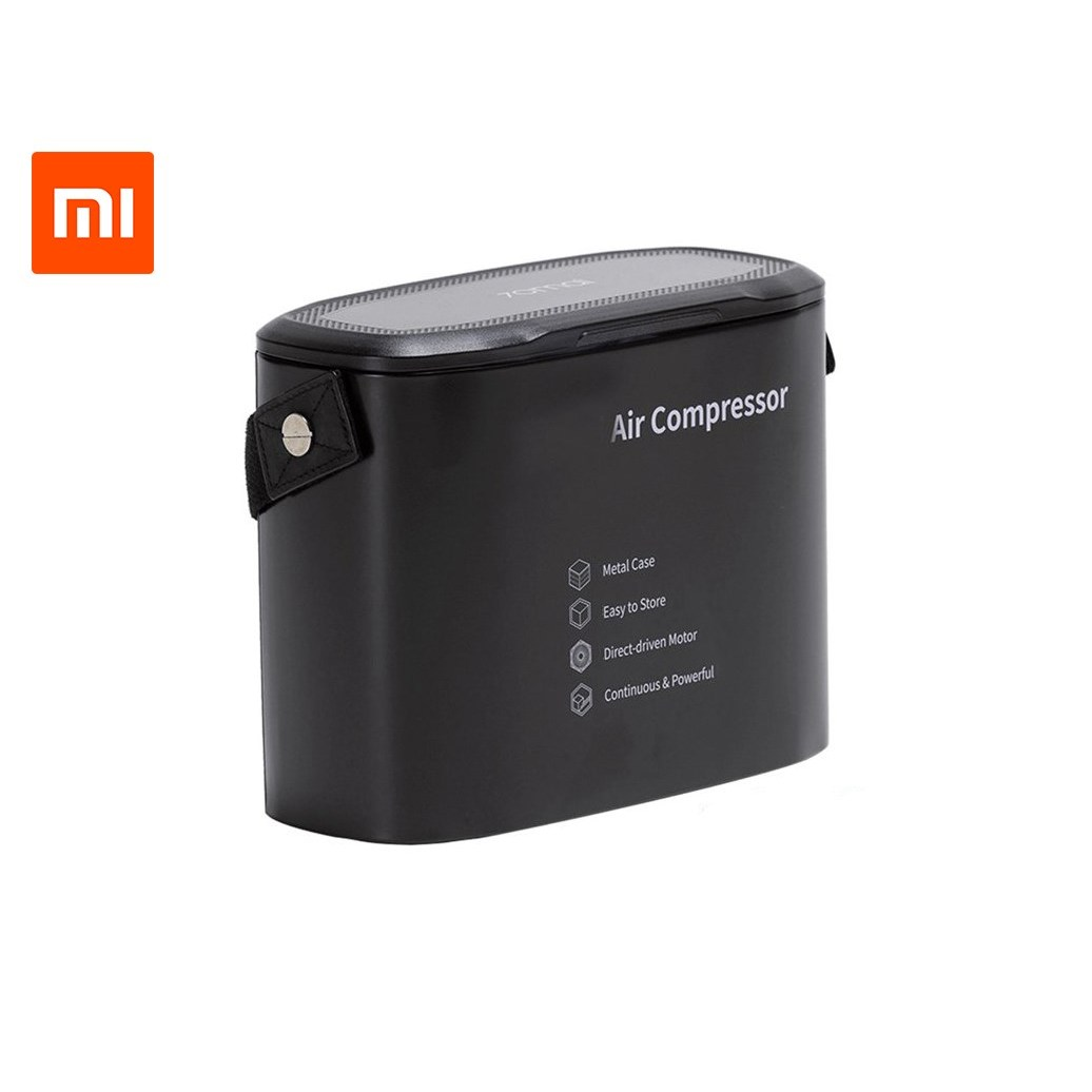 Original 70Mai Air Compressor Mi drive Tp01 12V Digital Portable Pump with LED Tyre Data Metal Box Bicyles Auto Tyre Inflator