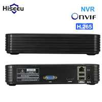 Hiseeu H.265 Cctv Nvr di Sicurezza Video Registratore di Sorveglianza 16CH 5MP 2MP 8CH 4MP 5MP Uscita Motion Detect Onvif Xmeye