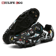 Winter MTB Cycling Shoes Men Outdoor Sports Self-locking Road Bike Sneakers Racing Women Bicycle Shoe Flat Cleat Mountain SPD