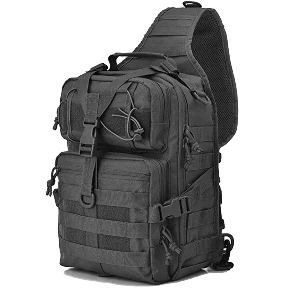 Military Tactical Sling Shoulder Bag Chest Bags Army Backpack Molle EDC Rucksack  Bag for Outdoor Hiking Camping Hunting