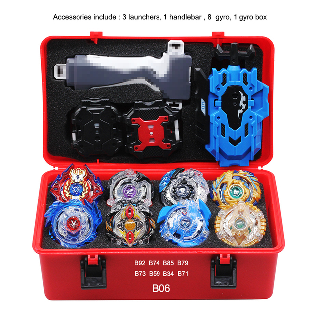 TAKARA TOMY Beyblade Burst Set New Combination Toys Beyblades Arena Bayblade Metal Fusion 4d With Launcher Spinning Top Toys