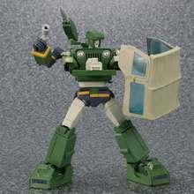 Tkr transformação MP-47 mp47 hound inspector mp proporção figura de ação ko robô brinquedos