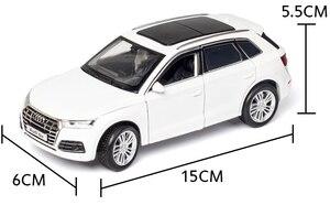 Image 5 - Diecastรุ่น1:32 Scaleใหม่Audi Q5 Sport SUVรถดึงกลับเสียงเด็กของขวัญคอลเลกชันฟรีการจัดส่ง