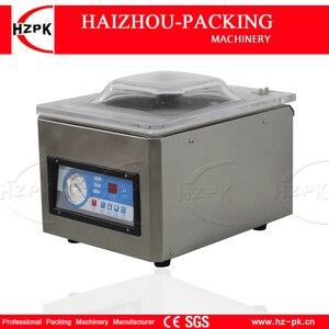 Image 2 - HZPK נירוסטה Stee תא קפה אגוז פלסטיק שקיות איטום מטבח מזון אוטומטי מסחרי קטן מכונת אריזת ואקום DZ260