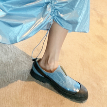 2019 summer new arrive Jean canvas  sole single shoes for women