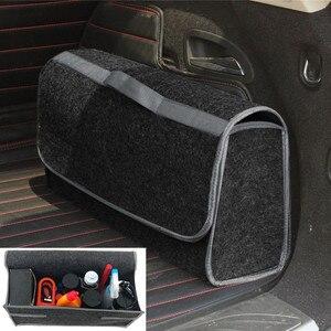 Image 1 - Портативная Складная Многофункциональная войлочная ткань, складная коробка для хранения, органайзер, чехол, ящик для инструментов, коробка органайзер в автомобиль, автомобиль, грузовик