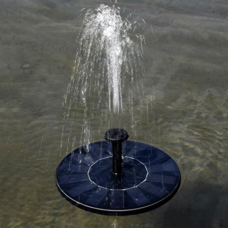 Hobbylane Solar Fountain Floating Garden Water Fountain Pool Pond Decoration Solar Powered Fountain Water Pump Drop Shipping