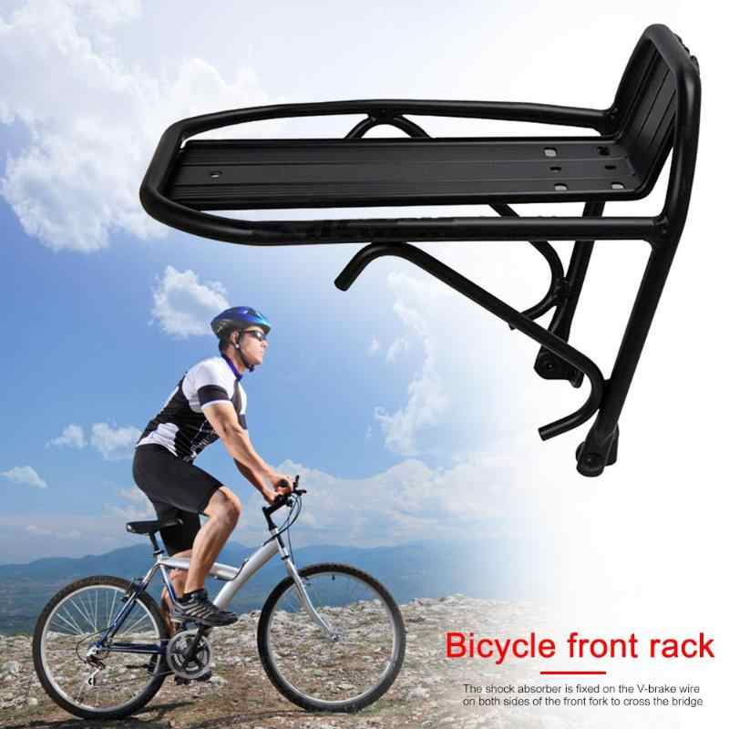 Bike Front Shelf Rack Bicycle Cycling Quick Release Luggage Carrier Bracket 10KG