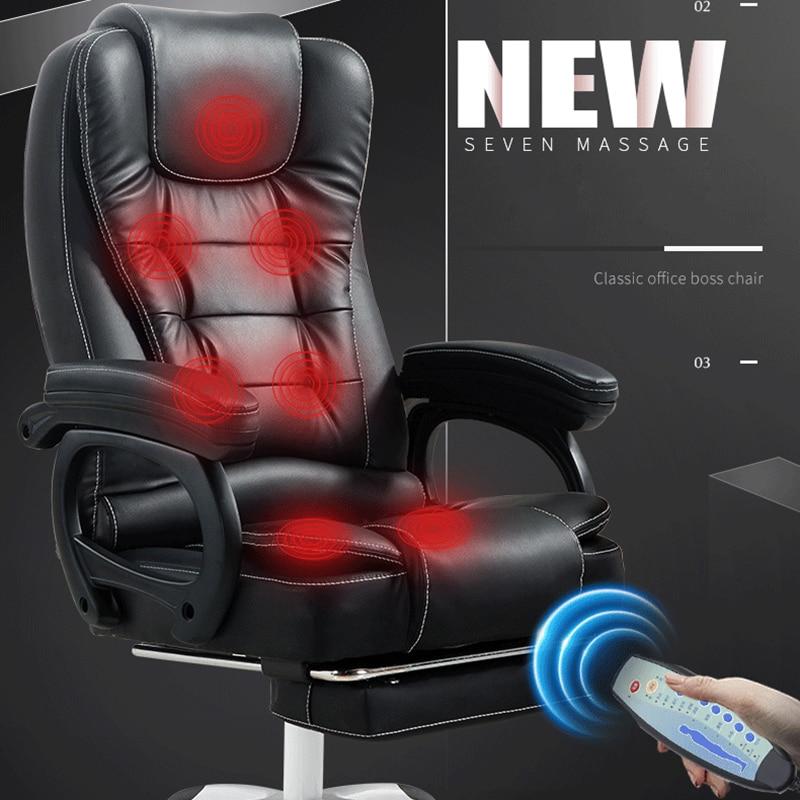 Desk Chair With Massage Bosse Armchair Computer Ergonomic Gamers Gamer Chair
