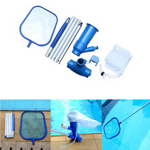 Portable Pool Cleaning Kit Swimming Pool Accessories Water Vacuum Spray Maintenance Cleaner Tools with Suction Head Skimmer Net