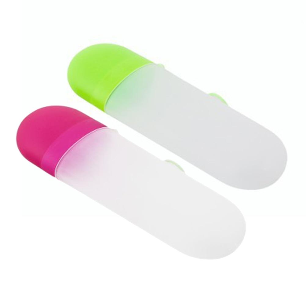 Чехол для зубной щетки путешествий портативный легкий пластиковый держатель