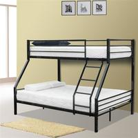 Children Bunk Bed Bunk Bed with Oblique Ladder Black with Rubber Pad Ladder Ladder Stair Safe and Strong