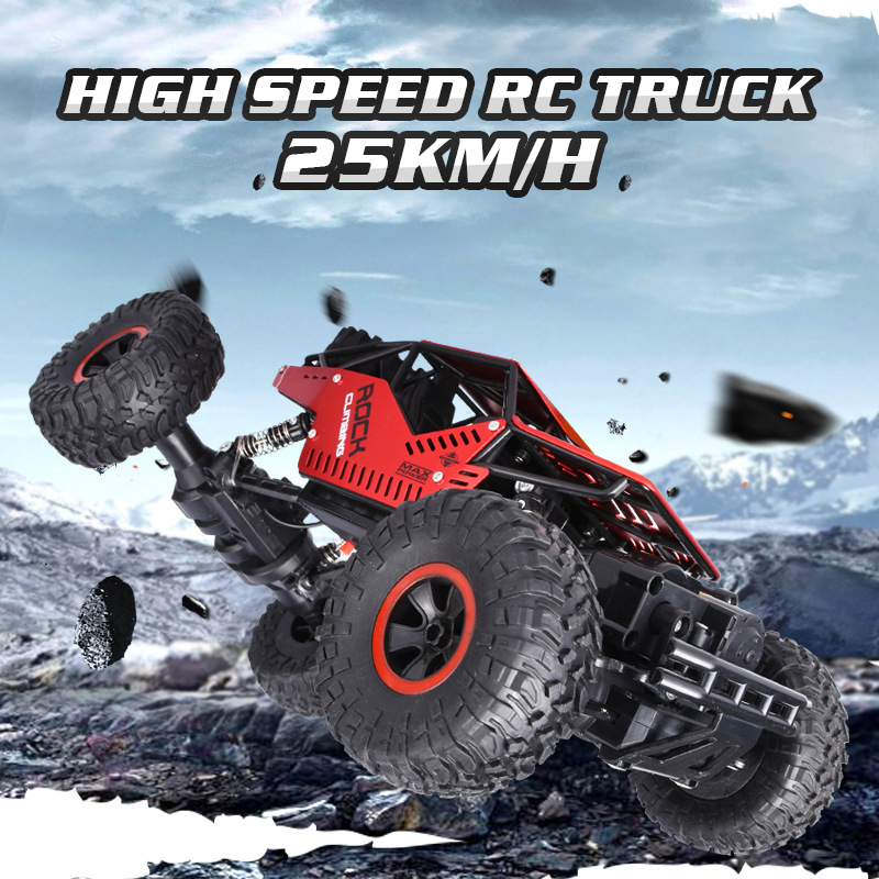 Toys For Boys RC Car 1:18 2.4GHz Racing Machines On The Control Panel Radio-Controlled Cars Gifts For Kids Child Crawls RC Buggy