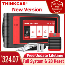 Thinkcar – mini Scanner professionnel de voiture, système complet de Diagnostic automatique, codage ECU, Test actif, OBD2