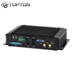 2020 NEW Industrial Mini PC Core i7-8550U i5-8250U i3 DDR4 Fanless Computer 6*COM 2*Intel Lan 8*USB GPIO LPT VGA HDMI 3G/4G WiFi