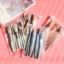 7Pcs/set Makeup Brush Set Premium Synthetic Foundation Powder Concealers Eye shadows Blush Cosmetic Makeup Brushes