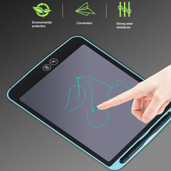 10/12 inch LCD Handwriting Board Partially Erasing Children's Writing Thick Pen Highlighting Electronic Digital Drawing Tablets