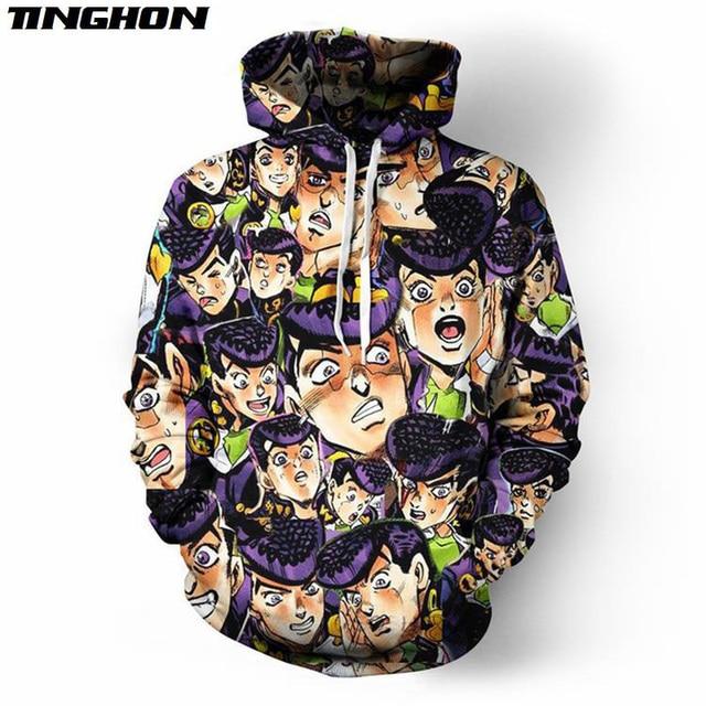 Anime JoJo's Bizarre Adventure 3D Full Printed Hoodie/Sweatshirt/Jacket/Men Women Hiphop Casual Plus Size XS 6XL 7XL 05 2