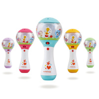 Department of Music 697 Curious Sand Hammer Newborn Infant Electric Toys Baby Rattle Music 0 12 Months