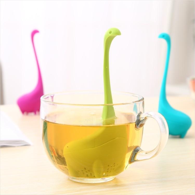 Tea Strainers Cartoon Moulding Tea Filter Household Creative Tools Gift Silica Tea Infusers Silicone Rubber tea ball|Tea Strainers| |  - title=