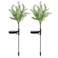 2шт Рождественская елка светодиодный солнечный светильник Спайк