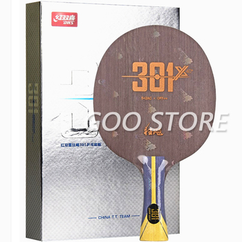 DHS Hurricane 301X Table Tennis Blade OFF++ Arylate Carbon ALC Racket Original DHS H301X 301-X 301 X Ping Pong Bat Paddle original dhs hurricane h tp table tennis pingpong blade shakehand fl