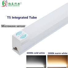 Led-Lamp Led-Tube-Light Fluorescent 60cm T5 Led 220/240V Led Tubo 30cm Microwave-Sensor
