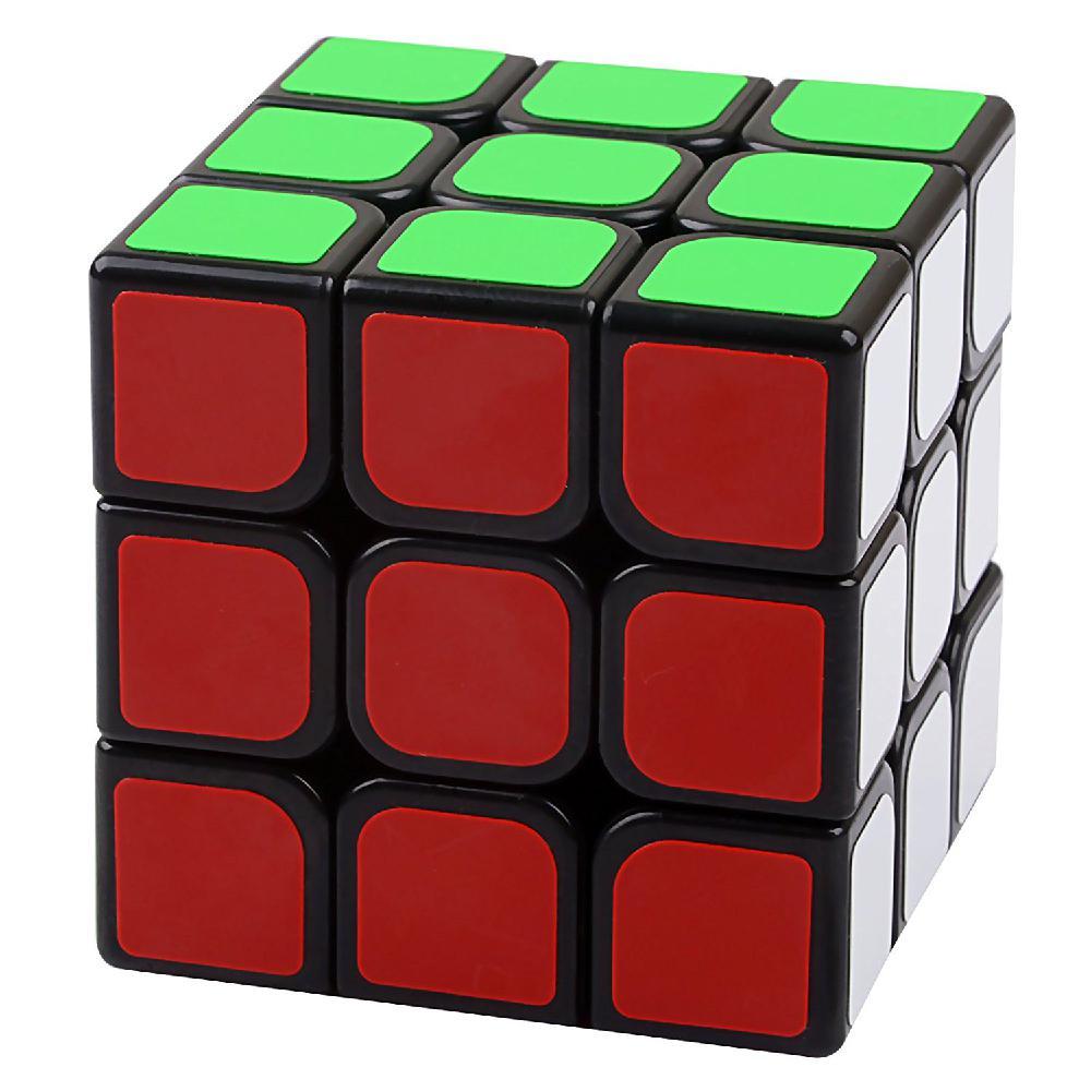 HobbyLane Black 3x3x3 MoYu AoLong V2 Puzzle Magic Cube