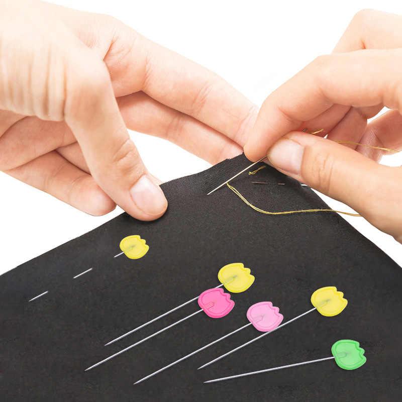 LMDZ-aiguilles de positionnement Patchwork | 50/100 pièces/boîte, aiguille de positionnement, marqueur de couture, aiguille épingles de couture, accessoires de vêtement fait à la main, bricolage