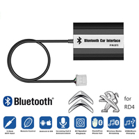 LISIDIC A2DP Car MP3 Music Player Bluetooth USB AUX Adapter for Peugeot 307 407 607 RD4 Citroen C2 C3 C4 12PIN Interface