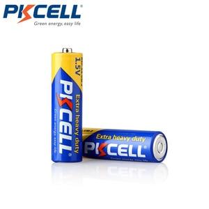 Image 3 - 50Pcs X PKCELL R6P 1.5V Super Heavy Dutyแบตเตอรี่คาร์บอนสังกะสีAAเดียวใช้แบตเตอรี่แห้งแบตเตอรี่