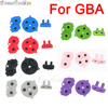8colors 1set D pad For GBA Colorful Rubber Conductive Buttons A B D pad for GameBoy Advance Silicone Start Select Keypad Dpad