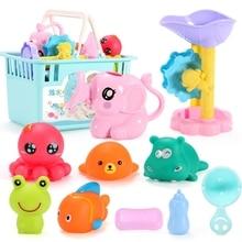 Toys-Set Bathtub Sprinkler Floating Bath-Waterwheel Swimming-Pool Water-Toys Kids 18
