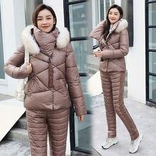 Зимняя новая утолщенная куртка с хлопковой подкладкой Женская