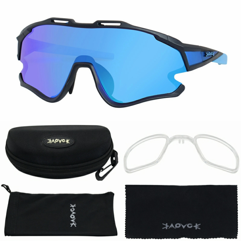 Cycling Sunglasses Professional Polarized Cycling Glasses MTB Road Bike Sport Sunglasses Bike Eyewear UV400 Bicycle Goggles 14