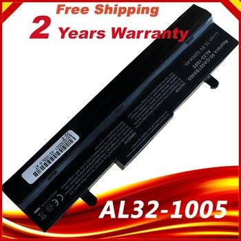 6 celdas 5200mAh Li-Ion batería para Asus Eee PC 1005 EEEPC 1005H 1005HA 1001 1001HA 1001P 1001PX 1101HA negro