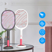 Bug Zapper Swatter Insect Racket Killer-Trap Electric Rechargeable 3000V USB 1200mah