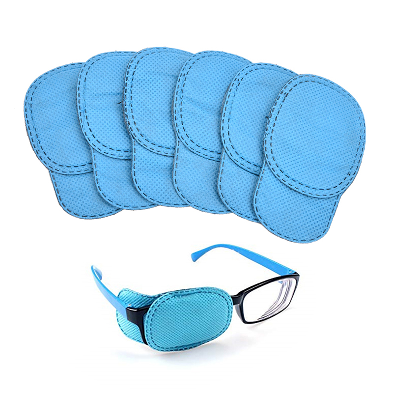 OPHAX 6Pcs/lot Child Occlusion Medical Lazy Eye Patch For Amblyopia Kids Children Health Care S M Size Drop Shipping