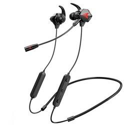 Беспроводные наушники, игровые наушники с Bluetooth, игровые наушники с шейным ободом, игровая гарнитура с микрофоном для телефона, геймера