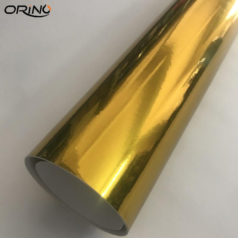 Gold Chrome Vinyl Wrap Sticker-4