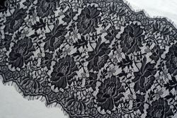 3 Meter eyelash chantilly Lace Trim Mesh black&white Lace trim Decoration Crafts Sewing Lace For Wedding Making Decoration