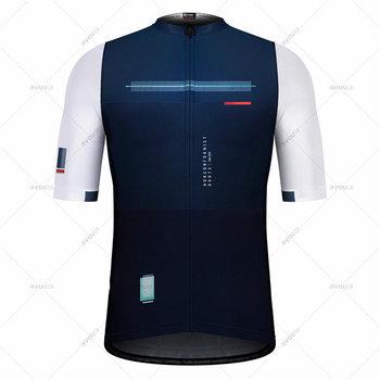 2021 hiszpania letnie męskie koszulki rowerowe koszulki rowerowe z krótkim rękawem rower MTB Jeresy odzież rowerowa nosić Ropa Maillot Ciclismo tanie i dobre opinie honu fast IT (pochodzenie) POLIESTER Stretch Spandex SHORT men cycling jersey set Wiosna summer AUTUMN Zamek na całej długości
