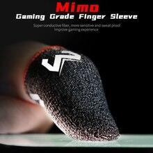2 ПК Телефон Игры Защита от пота Палец Перчатки Большие пальцы Палец Чехол Противоскользящий Детская кроватка