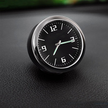 Lsrtw2017 Car Styling Car Interior Clock Watch for Audi A4 A6 A3 Q3 Q5 Q5 Q7 lsrtw2017 leather car key case chain buckle chain for a4 a6 a3 q3 q5 q5 q7